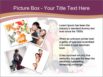 Portrait of the happy family PowerPoint Templates - Slide 23