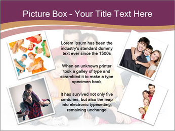 Portrait of the happy family PowerPoint Templates - Slide 24