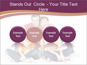 Portrait of the happy family PowerPoint Templates - Slide 76