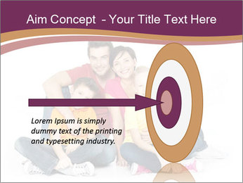 Portrait of the happy family PowerPoint Templates - Slide 83