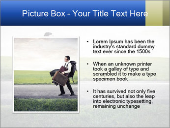 Businessman walking PowerPoint Templates - Slide 13