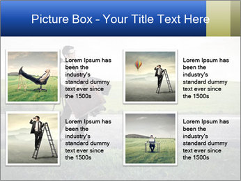 Businessman walking PowerPoint Templates - Slide 14