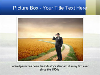 Businessman walking PowerPoint Templates - Slide 16