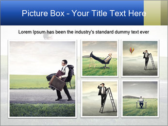 Businessman walking PowerPoint Templates - Slide 19