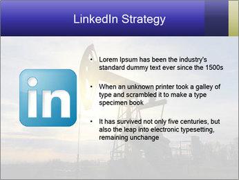 Working oil pump PowerPoint Template - Slide 12