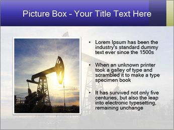 Working oil pump PowerPoint Template - Slide 13