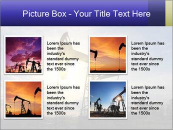 Working oil pump PowerPoint Template - Slide 14