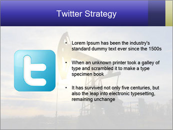 Working oil pump PowerPoint Template - Slide 9