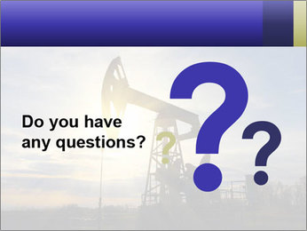 Working oil pump PowerPoint Template - Slide 96