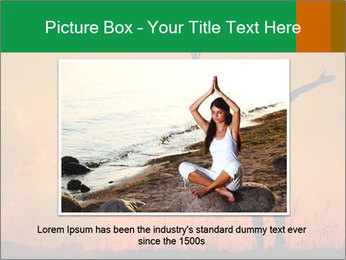 Woman and guitar PowerPoint Templates - Slide 15