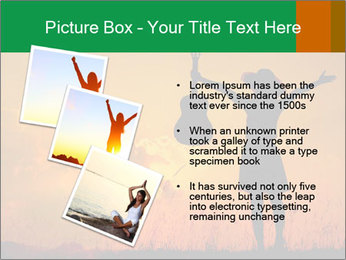 Woman and guitar PowerPoint Templates - Slide 17