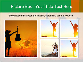 Woman and guitar PowerPoint Templates - Slide 19