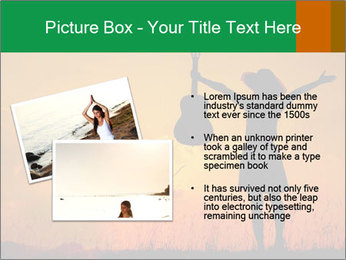 Woman and guitar PowerPoint Templates - Slide 20