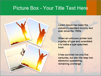 Woman and guitar PowerPoint Templates - Slide 23
