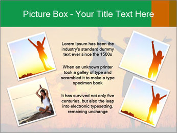 Woman and guitar PowerPoint Templates - Slide 24
