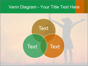 Woman and guitar PowerPoint Templates - Slide 33