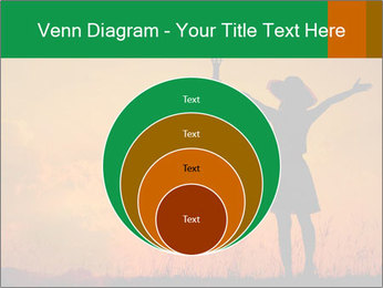 Woman and guitar PowerPoint Templates - Slide 34
