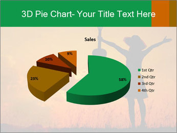 Woman and guitar PowerPoint Templates - Slide 35