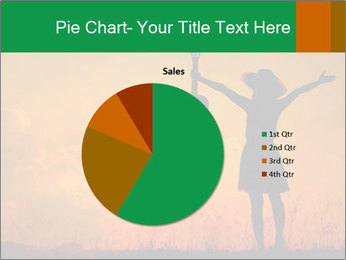Woman and guitar PowerPoint Templates - Slide 36