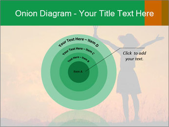 Woman and guitar PowerPoint Templates - Slide 61