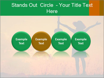 Woman and guitar PowerPoint Templates - Slide 76