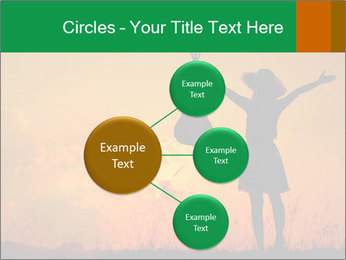 Woman and guitar PowerPoint Templates - Slide 79