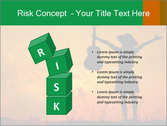 Woman and guitar PowerPoint Templates - Slide 81