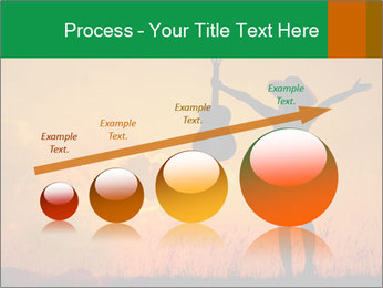 Woman and guitar PowerPoint Templates - Slide 87