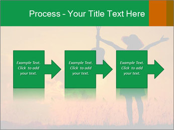 Woman and guitar PowerPoint Templates - Slide 88