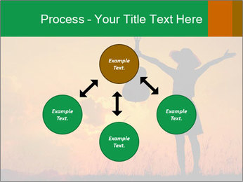 Woman and guitar PowerPoint Templates - Slide 91