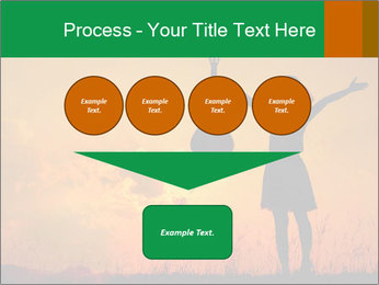 Woman and guitar PowerPoint Templates - Slide 93