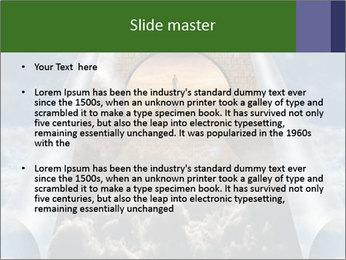 Sky splits open showing PowerPoint Template - Slide 2