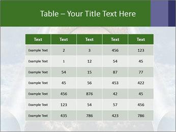 Sky splits open showing PowerPoint Template - Slide 55