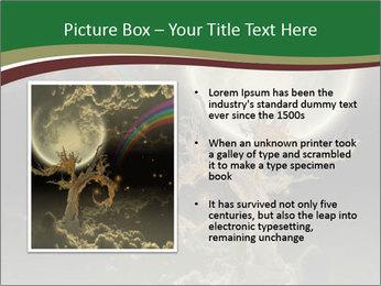 Tree moon stars PowerPoint Templates - Slide 13