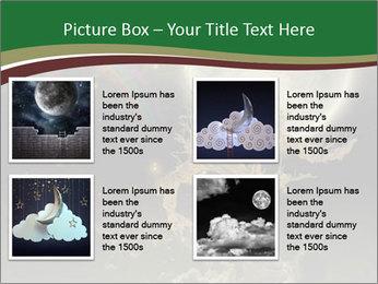 Tree moon stars PowerPoint Templates - Slide 14