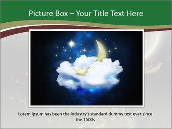 Tree moon stars PowerPoint Templates - Slide 15