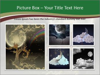 Tree moon stars PowerPoint Templates - Slide 19