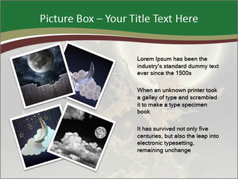 Tree moon stars PowerPoint Templates - Slide 23