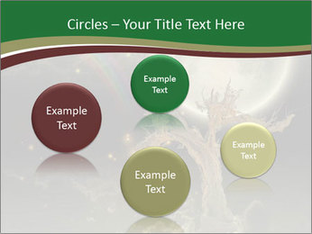 Tree moon stars PowerPoint Templates - Slide 77