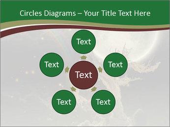Tree moon stars PowerPoint Templates - Slide 78