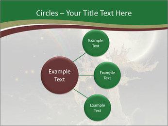 Tree moon stars PowerPoint Templates - Slide 79