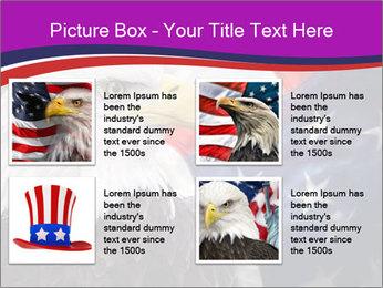 Bald eagle PowerPoint Templates - Slide 14