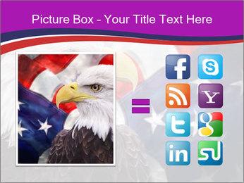 Bald eagle PowerPoint Templates - Slide 21