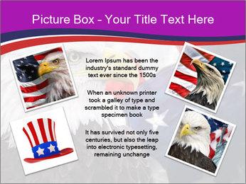 Bald eagle PowerPoint Templates - Slide 24