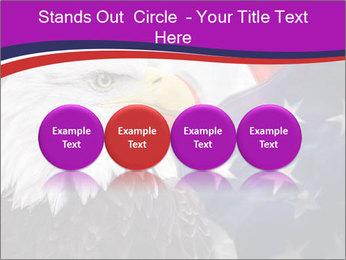Bald eagle PowerPoint Templates - Slide 76