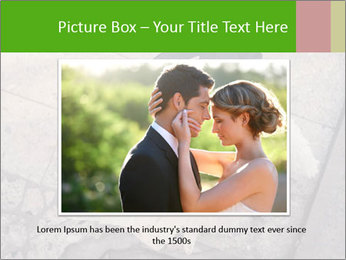 Happy young bride PowerPoint Templates - Slide 15