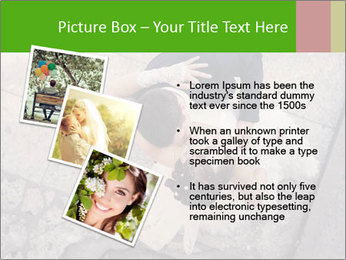 Happy young bride PowerPoint Templates - Slide 17