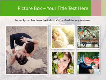 Happy young bride PowerPoint Templates - Slide 19