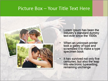 Happy young bride PowerPoint Templates - Slide 20