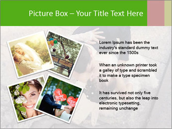 Happy young bride PowerPoint Templates - Slide 23